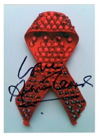 See Annie Lennox's Artwork Donated To The National AIDS Trust Charity Auction