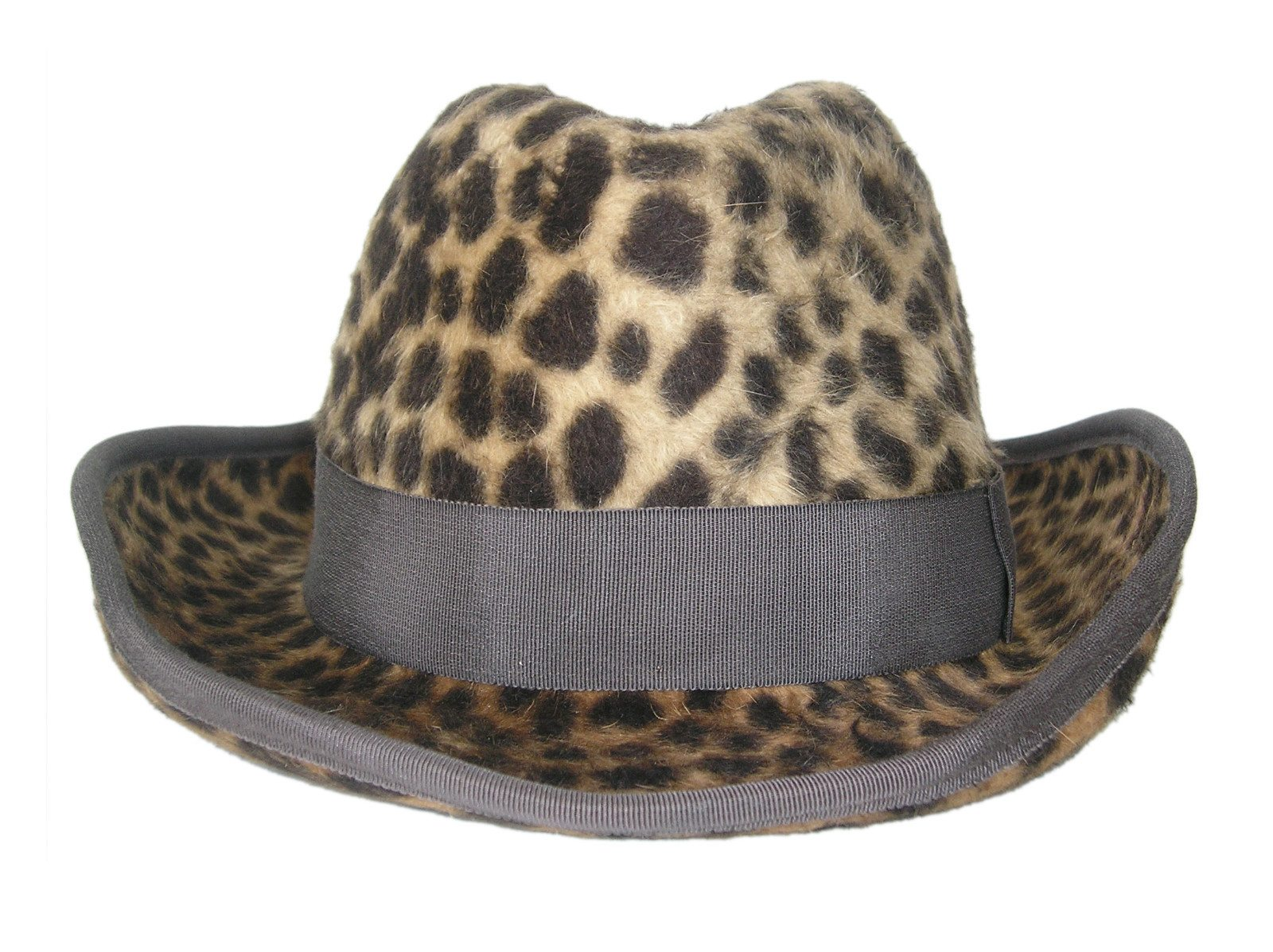 Annie Lennox Donates Her Leopard Print Fedora To St. Mungo's Wooly Hat Day Auction