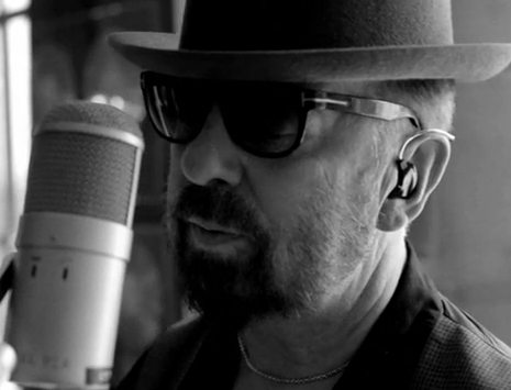See Dave Stewart Recording The Title Music For Living The Life In His Studio