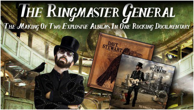 Dave Stewart's Ringmaster General Documentary Gets US Debut On 2nd November On Palladia