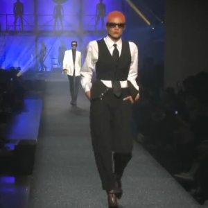 Watch The Annie Lennox \ Eurythmics Tribute In Jean Paul Gautier's Spring Summer Fashion Show