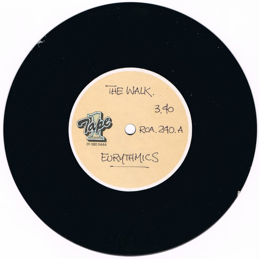 Record Of The Week: The Walk Rare UK Acetate Test pressing