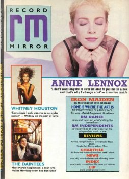 Eurythmics: Savage25: Memorabilia – Interview With Annie Lennox In Record Mirror