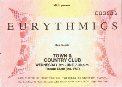 Eurythmics Savage25: 4 Rare Live Tracks From Savage