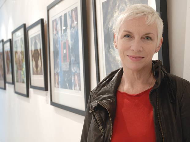 """Annie Lennox Feature In The Independent """"Annie Lennox: The singer, her iPhone and the universe"""""""
