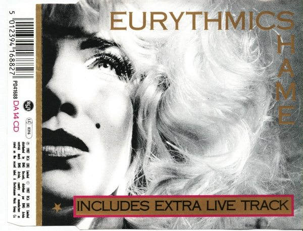 Eurythmics: Savage25: Rare Record – UK CD Single For Shame