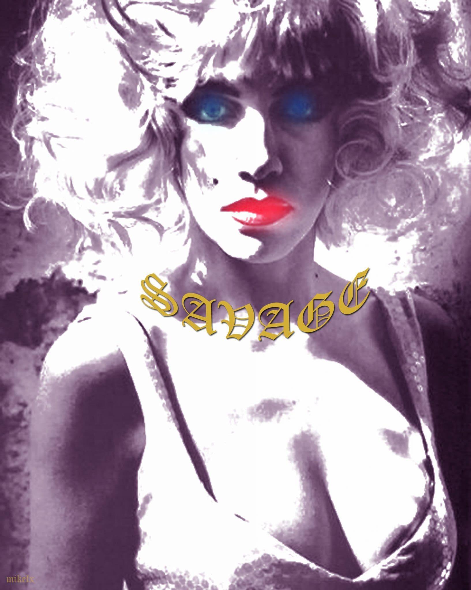 Eurythmics Savage25: Fans Artwork – Michelle Aversa