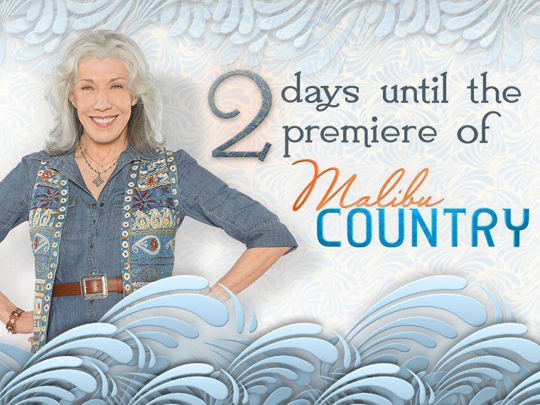 7, 6 ,5 ,4 ,3 ,2 Days To Go Before Dave Stewart's Malibu Country Hits The TV Screens