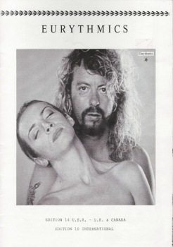 Eurythmics: Savage25: Memorabilia – Savage Featured In The Official Eurythmics Fanclub Magazine