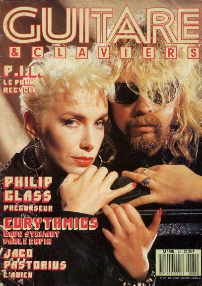 Eurythmics: Savage25: Memorabilia – Guitare & Claiver French Interview And Feature