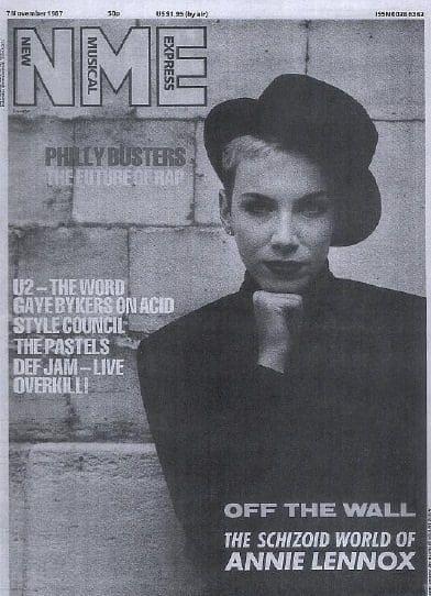 Eurythmics: Savage25: Memorabilia – NME Interview With Annie Lennox