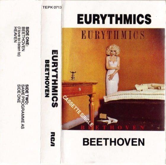 Eurythmics: Savage25: Rare Record – Beethoven Australian Cassette Single