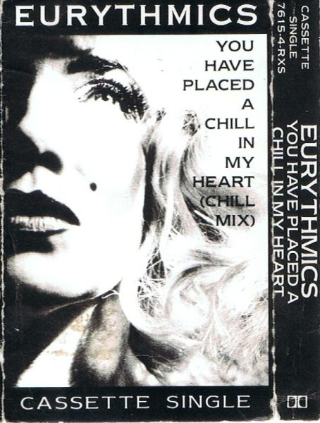 Eurythmics: Savage25: Rare Record – US Cassette Single For You Have Placed A Chill In My Heart
