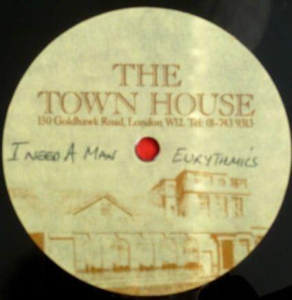 Eurythmics: Savage25: Rare Record – UK Townhouse Acetate Promo For I Need A Man