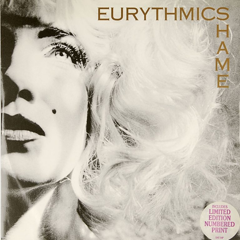 Eurythmics: Savage25: Rare Record – UK 12″ Limited Edition Single For Shame With Numbered Print