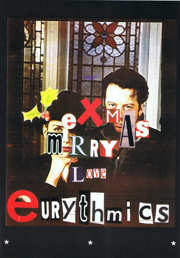 The Advent Calendar That Keeps Giving! Remastered Eurythmics Flexi Discs Now Online