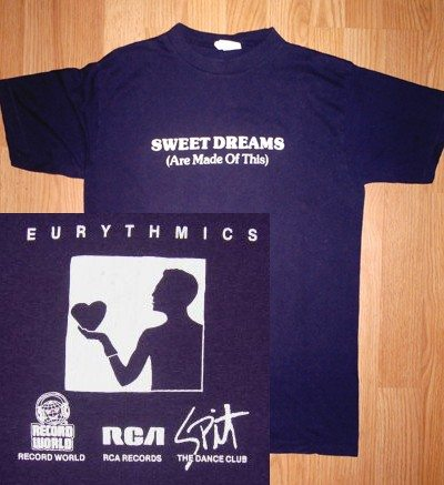Eurythmics Sweet Dreams 30 : Memorabilia – T-Shirts