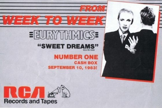 Eurythmics Sweet Dreams 30 : Memorabilia – Adverts