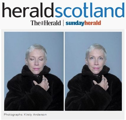 Annie Lennox Talks To The Herald Scotland On Passion, Pop and Peace