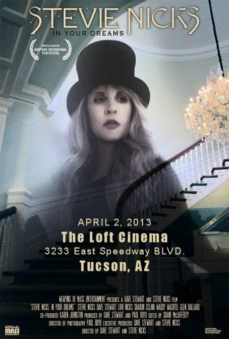 Exclusive One Day Only Cinema Showing Of the Dave Stewart And Stevie Nicks In Your Dreams Movie