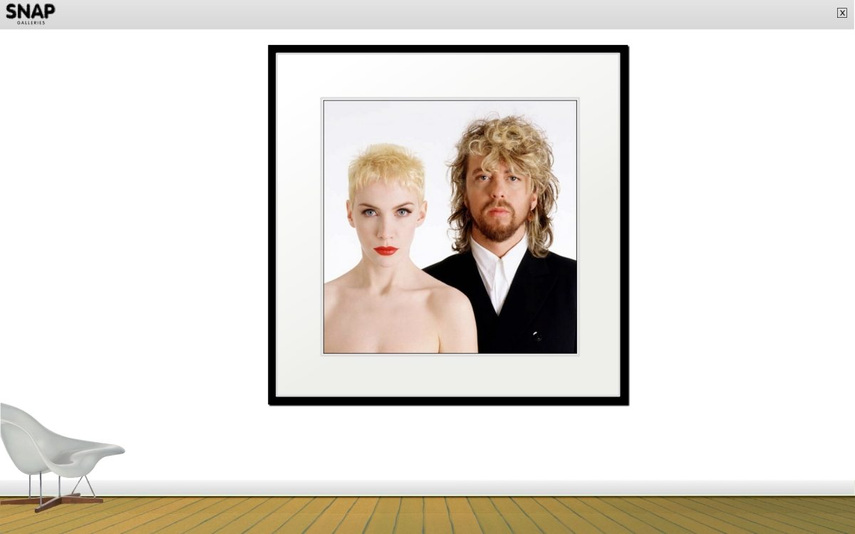 Gered Mankowitz's New Book featuring Eurythmics and The Tourists