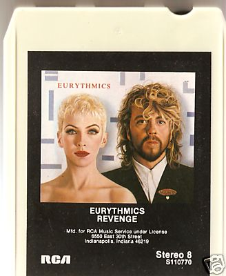 Eurythmics Revenge 25: Day 35 Rare Revenge Album Format