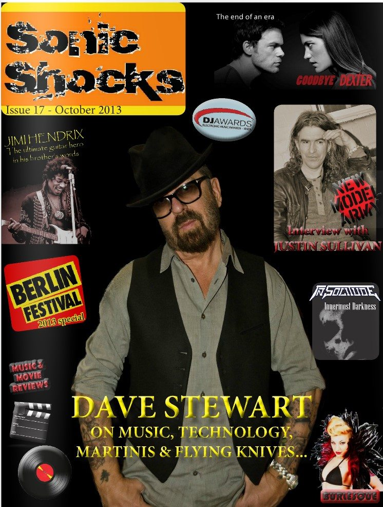 New Interview with Dave Stewart in Sonic Shocks magazine