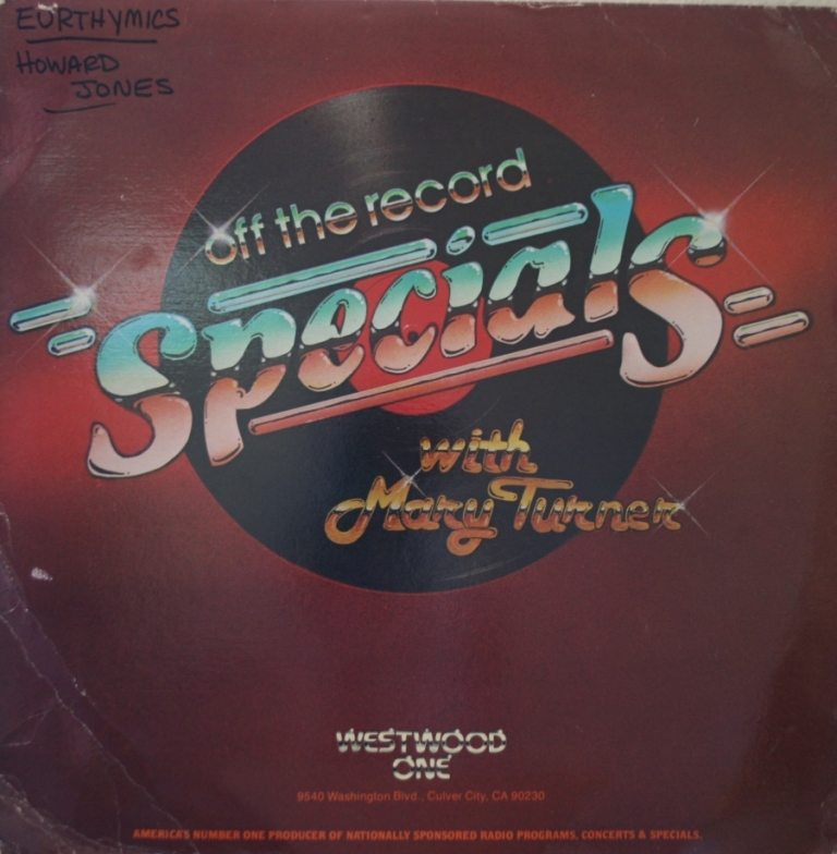 Collectable Record Of The Week: Eurythmics on Westwood One Radio Show LP with Howard Jones