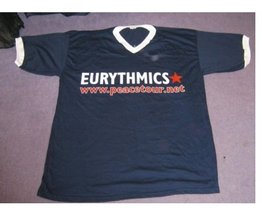 Memorabilia Of The Week : Rare Eurythmics ladies Peacetour T-Shirt