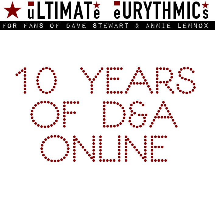 The Ultimate Eurythmics Website 10th Birthday