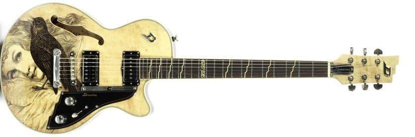 Watch Dave Stewart's guitar being auctioned live at Bonhams