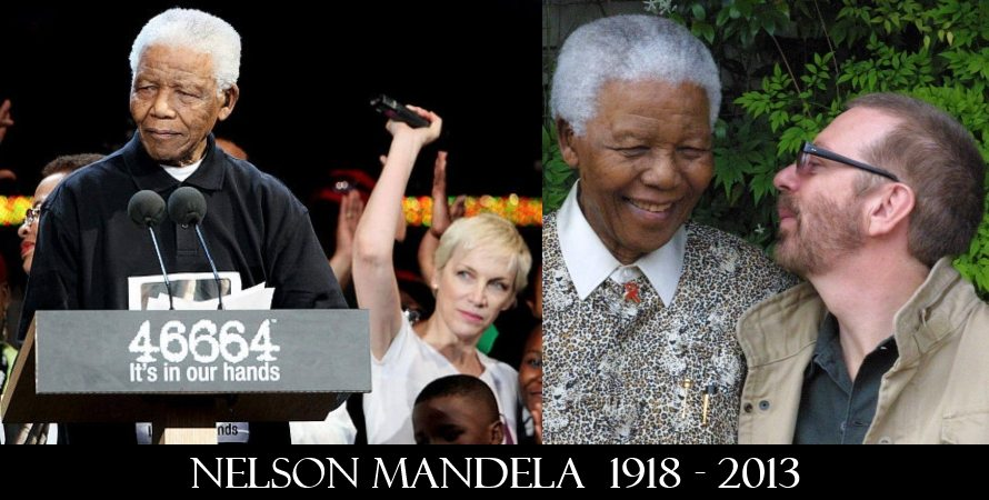 Dave Stewart and Annie Lennox both pay their tributes to Nelson Mandela