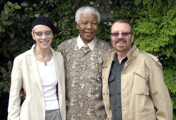 Nelson Mandela – A man who inspired Dave Stewart and Annie Lennox
