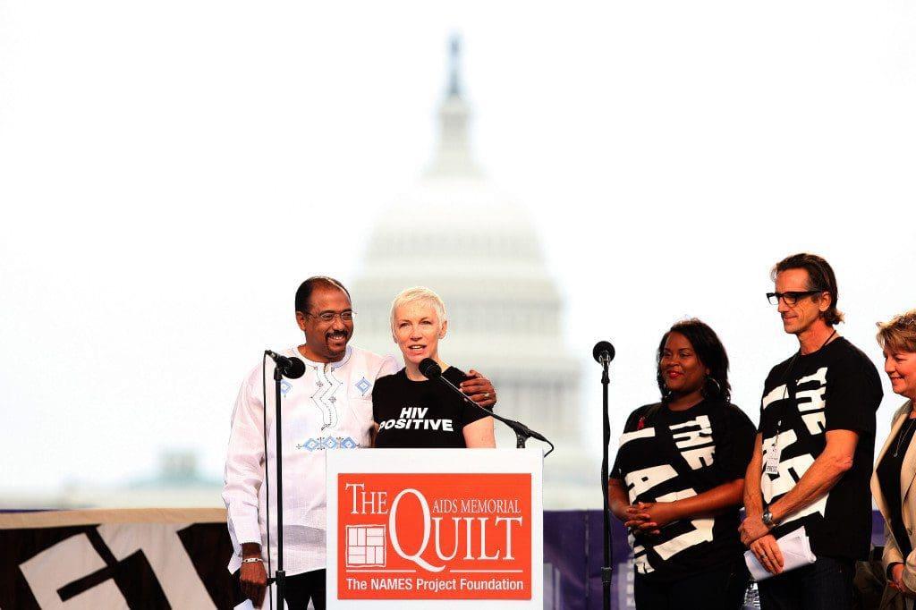 Annie Lennox's message on International Womens Day 2014