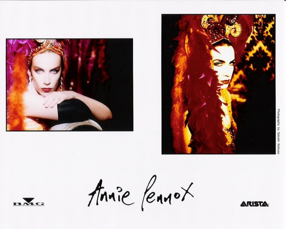 Photo Of The Week : Annie Lennox – Diva (From the photo archives of Norma Koning