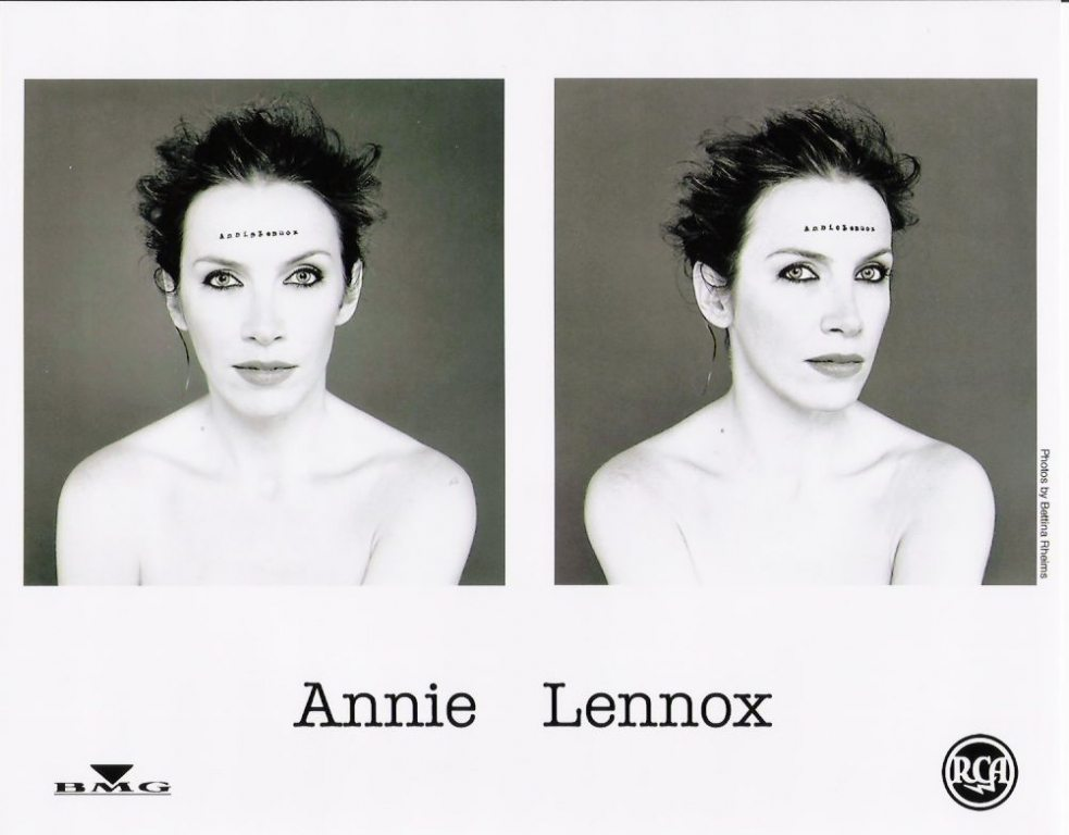 Photo Of The Week : Annie Lennox – Medusa promo photo by Bettina Rheimes (From the photo archives of Norma Koning)