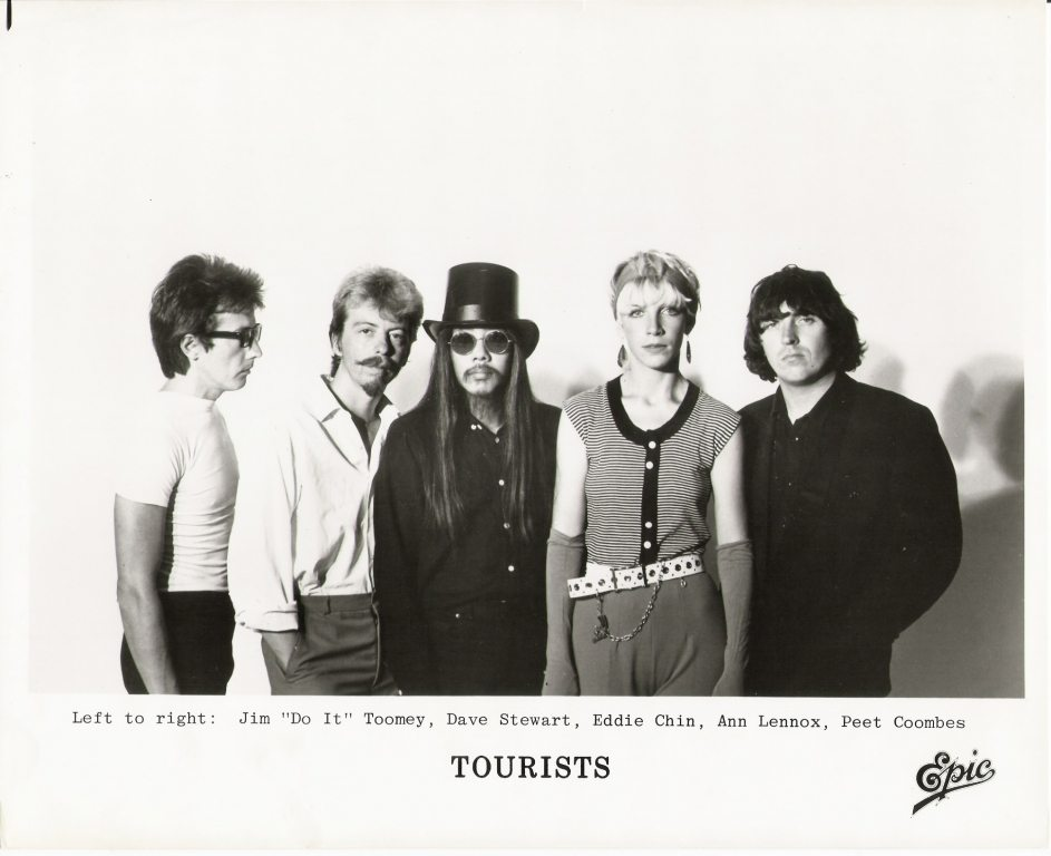 Photo Of The Week : The Tourists – Looking very serious! (From the photo archives of Norma Koning)