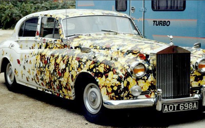 Is this the ultimate collectors item? Dave Stewart's Rolls Royce used to promote Honest was sold at auction last December