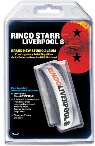 Memorabilia Of The Week : Dave Stewart and Ringo Starr Liverpool 8 USB wristband