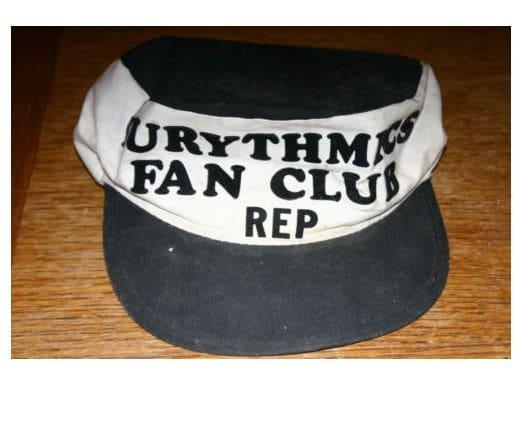 Memorabilia Of The Week : Eurythmics Fan Club representative cap