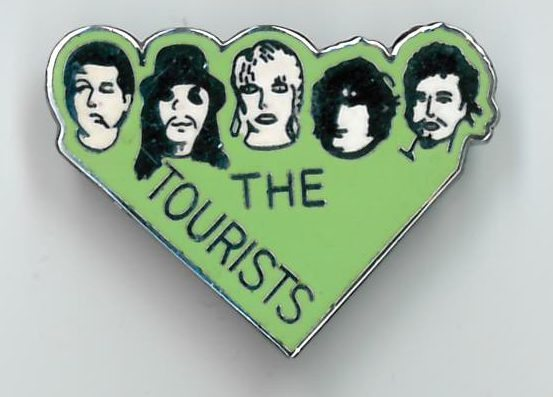 Memorabilia Of The Week : The Tourists – 2 rare enamel badges