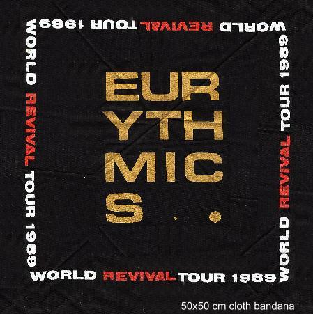 Memorabilia Of The Week : Eurythmics Revival World Tour bandanna