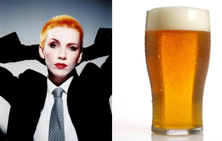 Annie Lennox – The female artist most people want to share a pint of beer with!