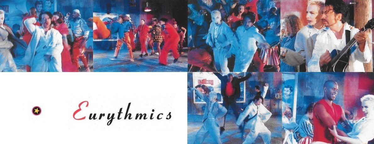 25 years ago today Eurythmics released their Single Revival : 14th August 1989