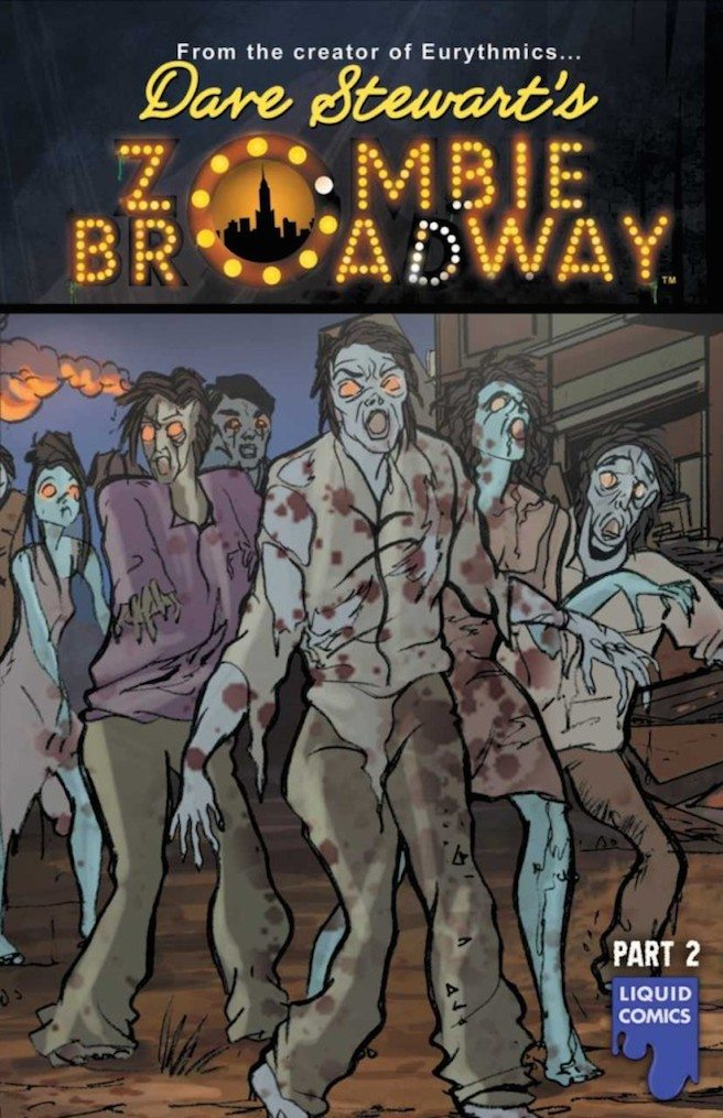 Pre Production work has started on the feature film adaptation of Dave Stewart's graphic novel Zombie Broadway