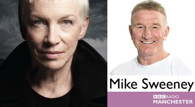 Listen to Annie Lennox's new interview with Mike Sweeney from BBC Radio Manchester