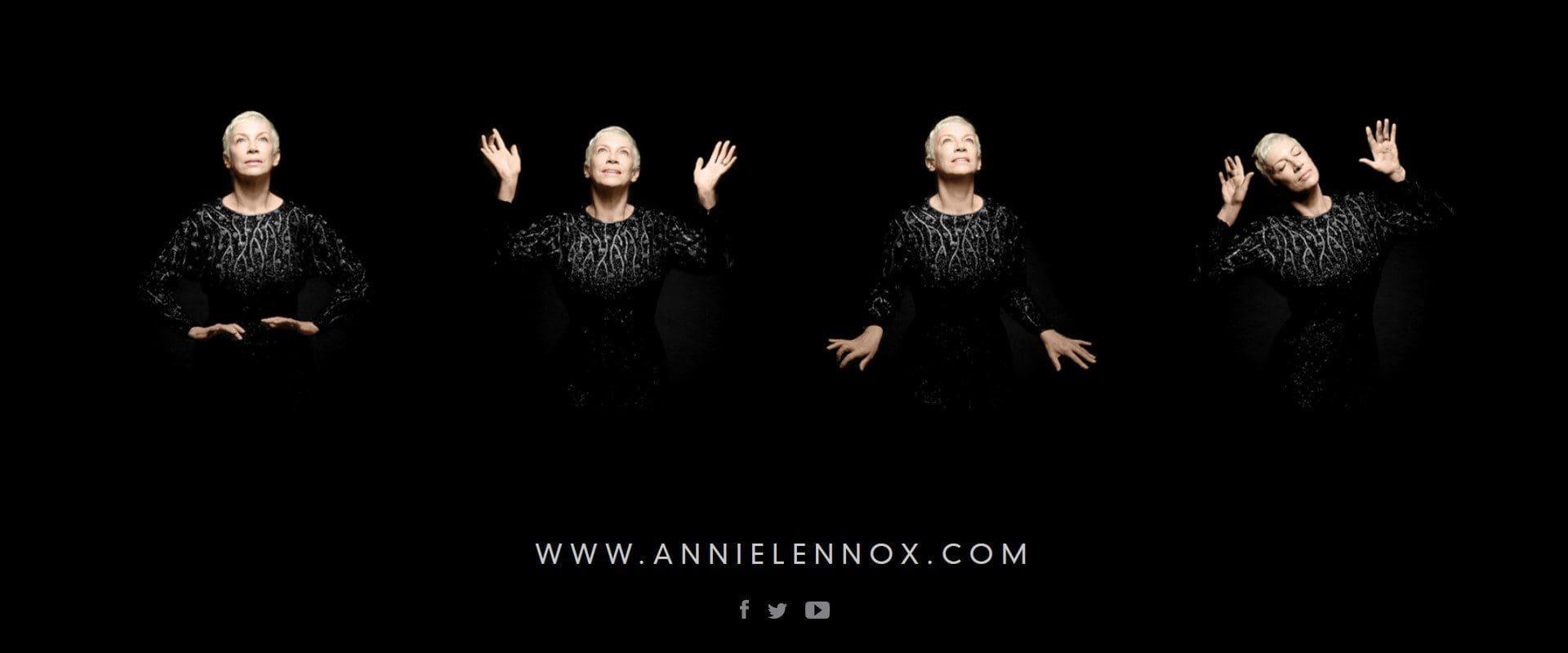 Annie Lennox's new album Nostalgia enter the official UK album chart at No. 9