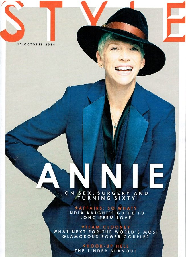 Annie Lennox speaks about plastic surgery, monogamy, ageing, feminism to The Sunday Times