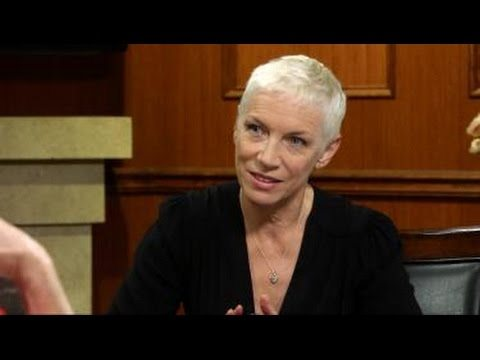 Watch Annie Lennox's interview with Larry King here