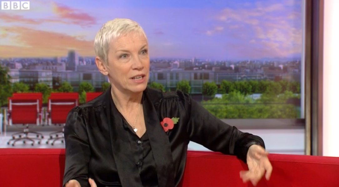Annie Lennox talks about Ebola, Feminism and Nostalgia with BBC Breakfast